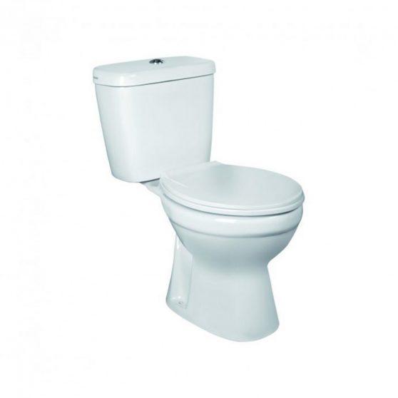 C-CLEAR monoblokkos WC alsó kifolyással ülőkével