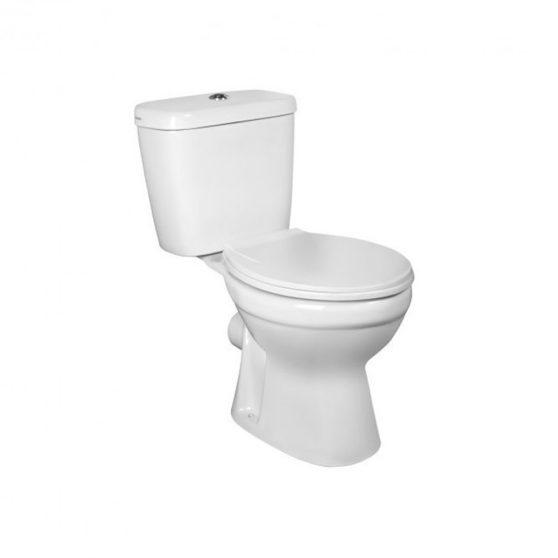 C-CLEAR monoblokkos WC hátsó kifolyással ülőkével