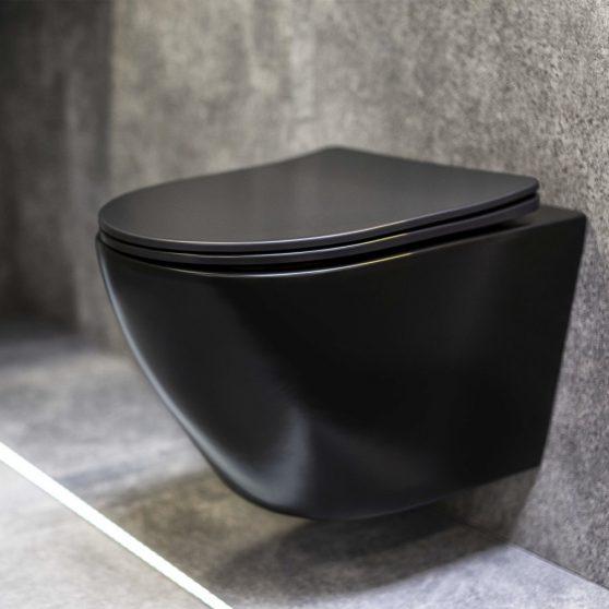 Delos BLM fali rimless WC soft-close ülőkével