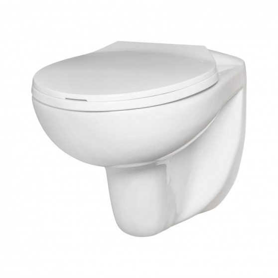 DORIS fali rimless WC soft close ülőkével