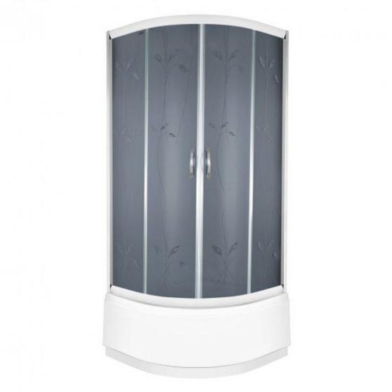 Enrica magastálcás íves zuhanykabin zuhanytálcával