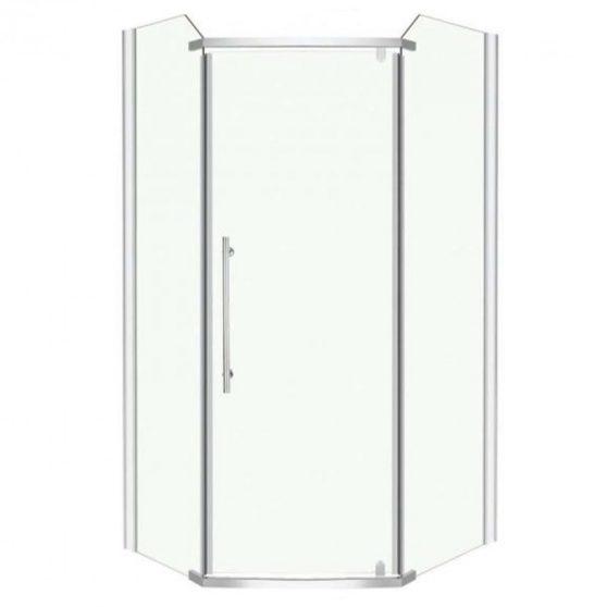 Glasgow 90x90 cm szögletes zuhanykabin zuhanytálca nélkül