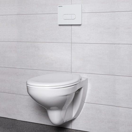 Julia White falba építhető WC tartály szett