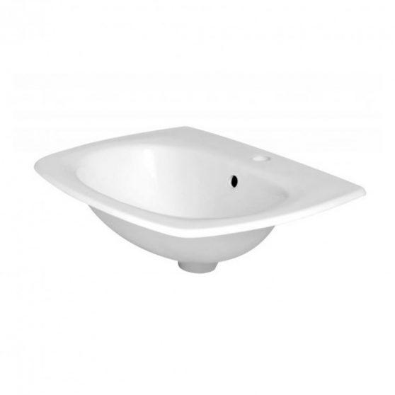 KR-129 kerámia design ráépíthető mosdó