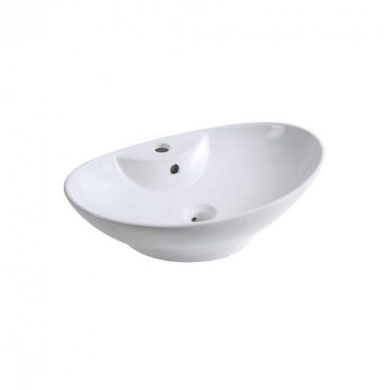 KR-139 kerámia design mosdó, matt fehér