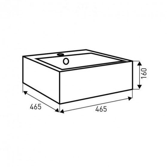 KR-179 kerámia design mosdó