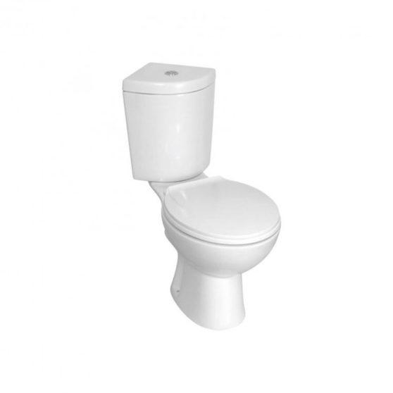KR61 Sarokba szerelhető monoblokkos WC ülőkével
