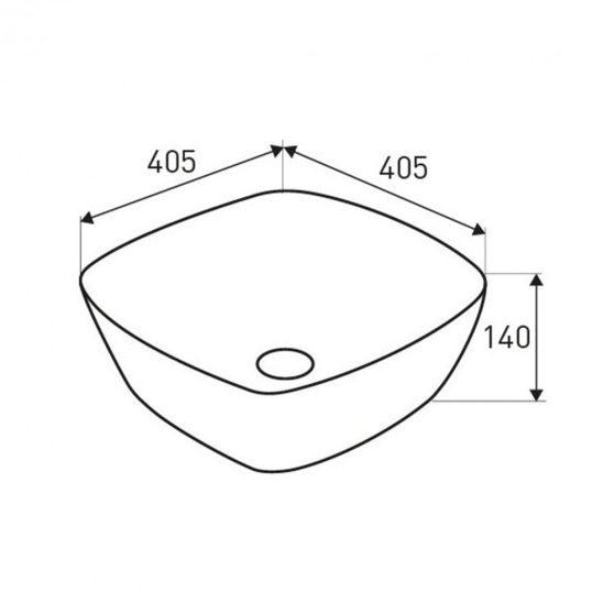 KR-650 kerámia design mosdó