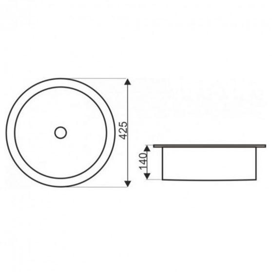 KR-904 kerámia design mosdó