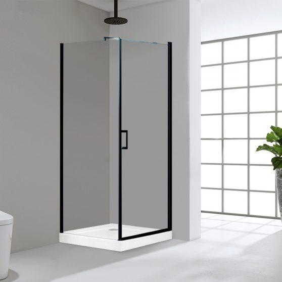 Lagos 80x80 cm szögletes zuhanykabin zuhanytálcával