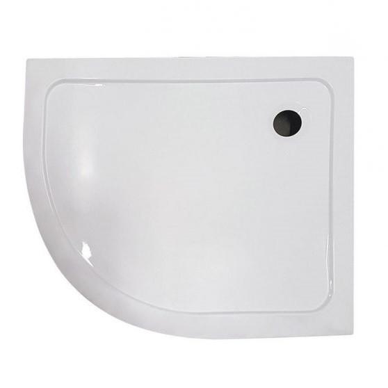 Memphis íves aszimmetrikus dupla tolóajtós zuhanykabin zuhanytálcával 5 mm biztonsági üveggel