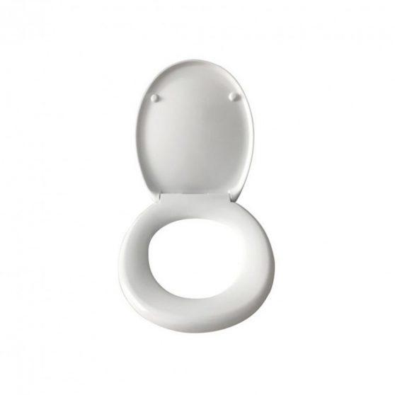 Mila Fehér duroplast soft-close WC ülőke