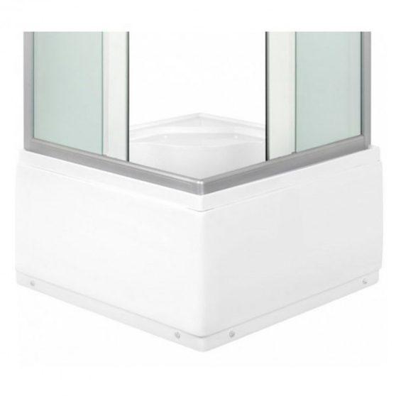 PICO szögletes mély tálcás zuhanykabin
