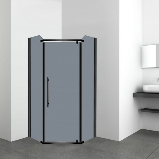 Prato 90x90 cm szögletes zuhanykabin zuhanytálca nélkül