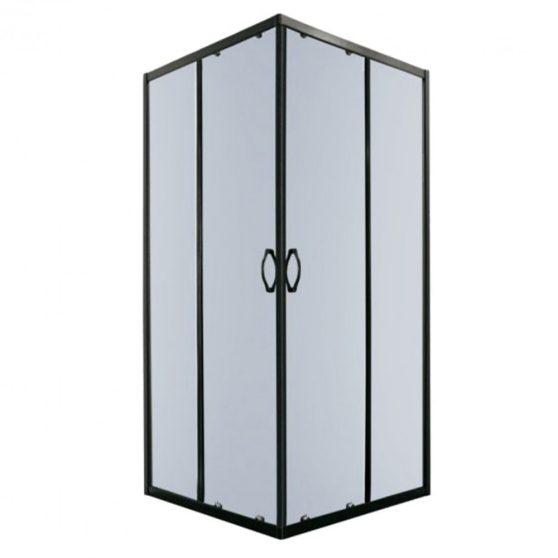 TIARASQUARE 80x80 cm szögletes zuhanykabin zuhanytálca nélkül
