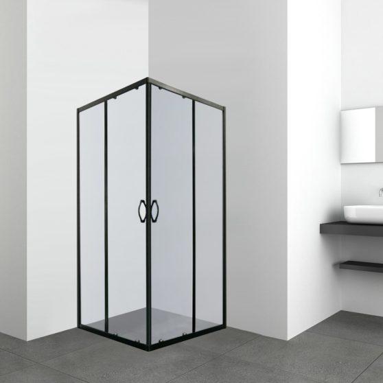 TIARASQUARE 90x90 cm szögletes zuhanykabin zuhanytálca nélkül