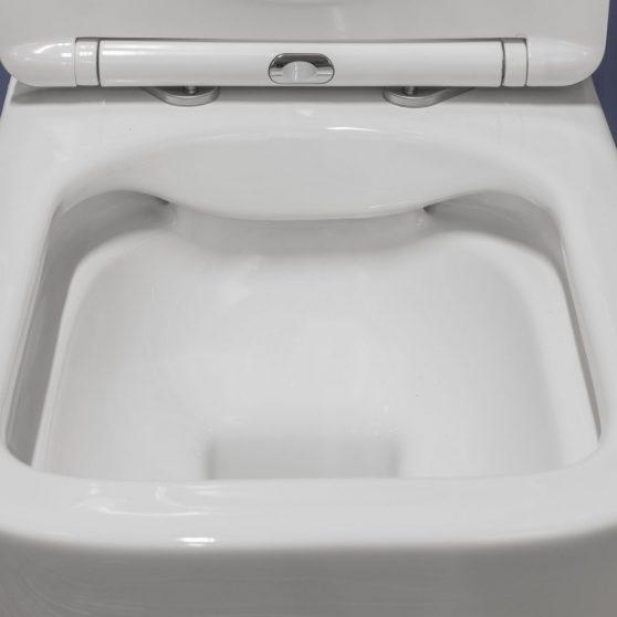 Tinos fali rimless WC