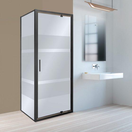 Tomar 80x80 cm szögletes zuhanykabin zuhanytálca nélkül