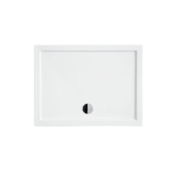 Victor aszimmetrikus akril zuhanytálca 120x80 cm